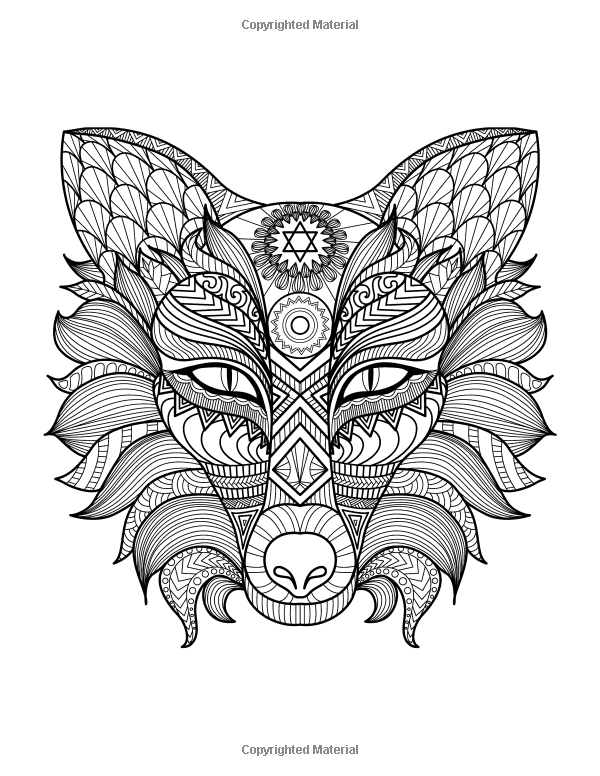 Robot Check Fox Coloring Page Dog Coloring Page Animal Coloring Pages
