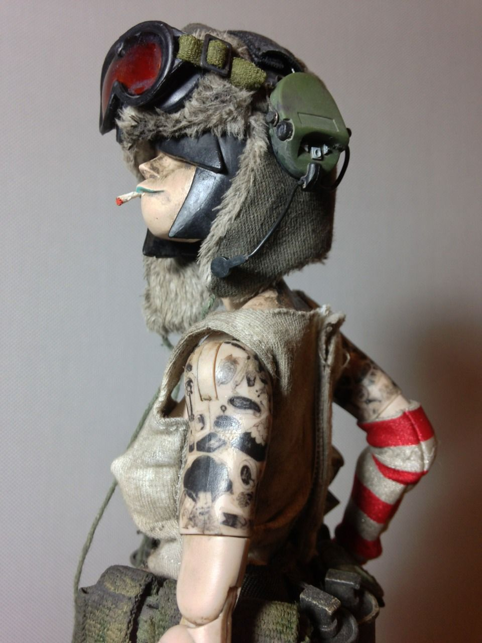 Toys Tank Girl Mcbess Ashley Wood 3a Threea Kitbash