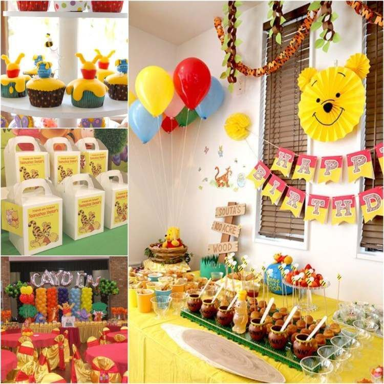 Idées De Déco Anniversaire 1 An Winnie Lourson Bday Party Ideas