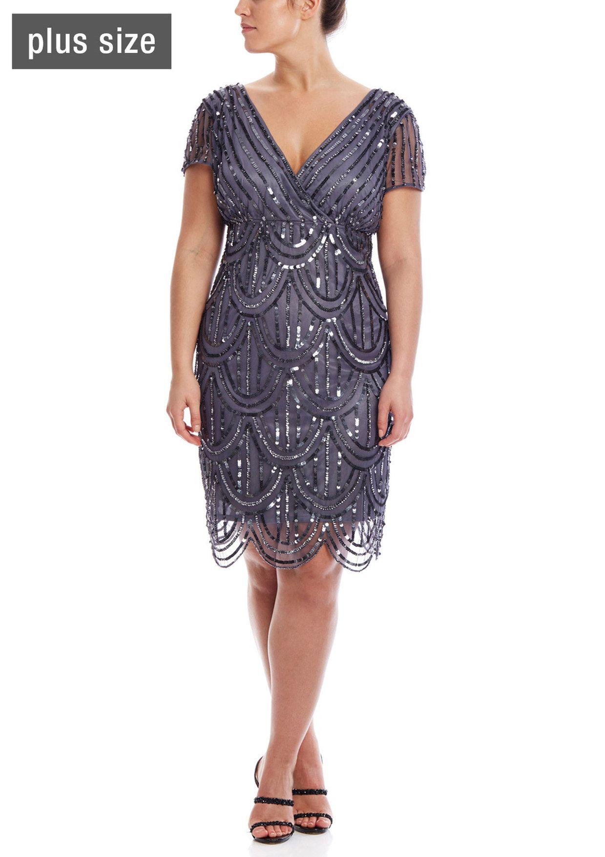 sparkly cocktail dresses plus size