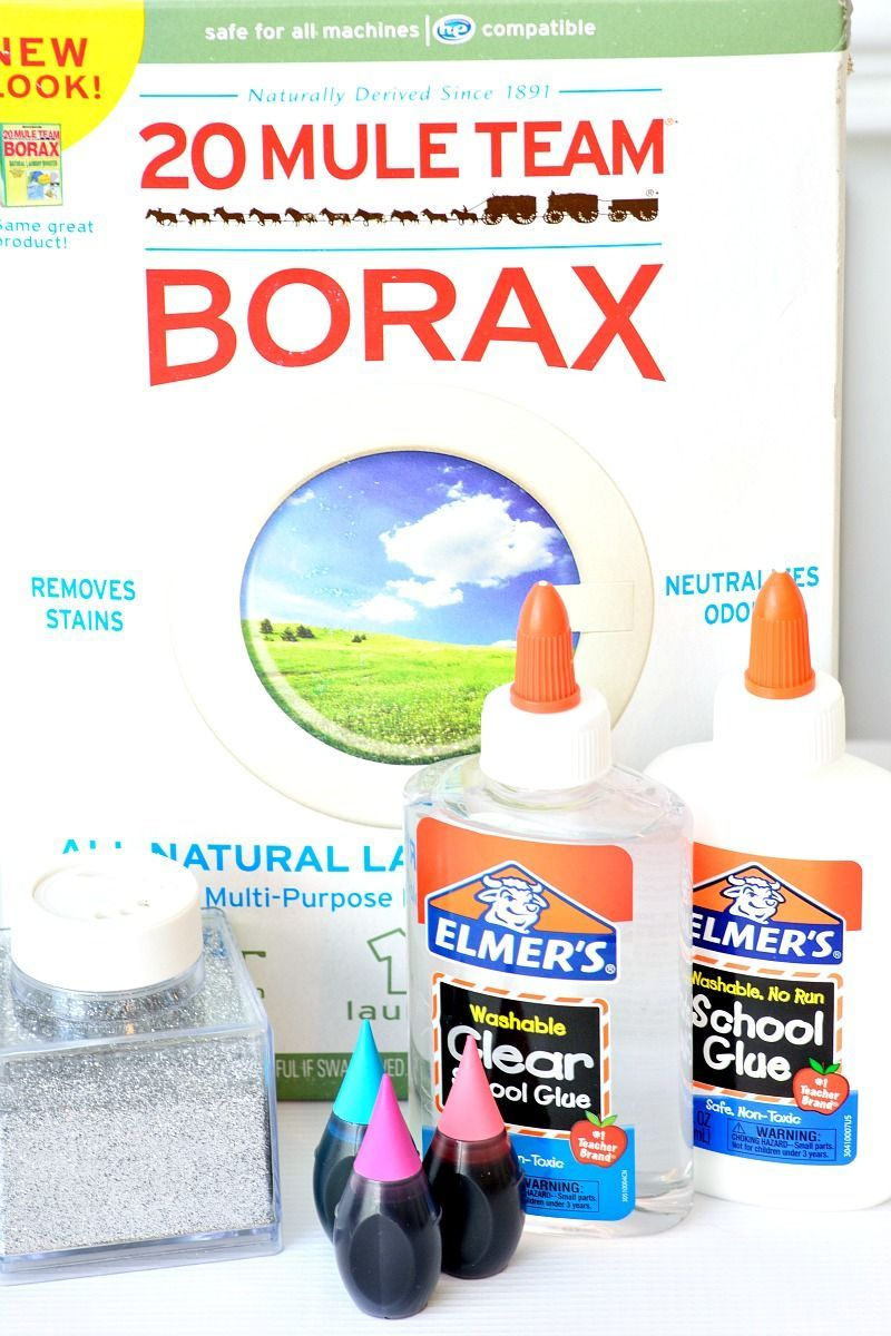 how to make slime with borax crafty ideas pinterest slime how