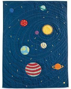 Solar system quilt and sham ideas pinterest inspiration for Solar system quilt pattern