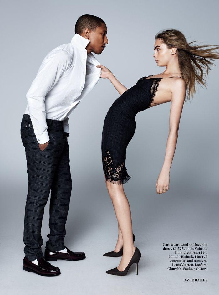 Pharrell  Williams and  Cara  Delevingne  919c45bbfe
