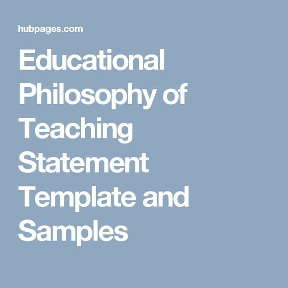sample nursing philosophy