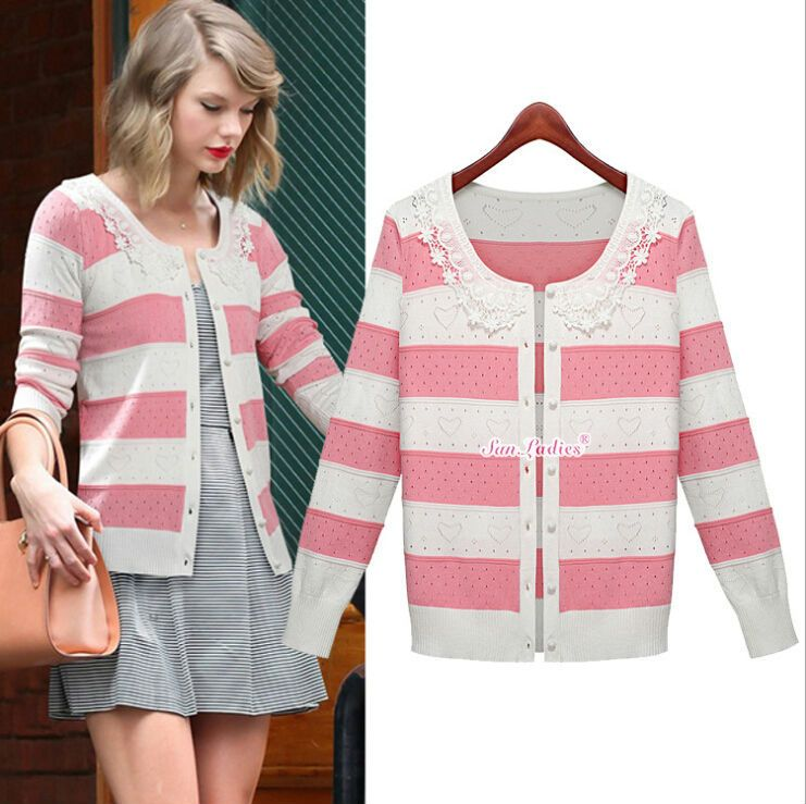 2015 women's sweater long cardigan clothing knitted cardigan ...