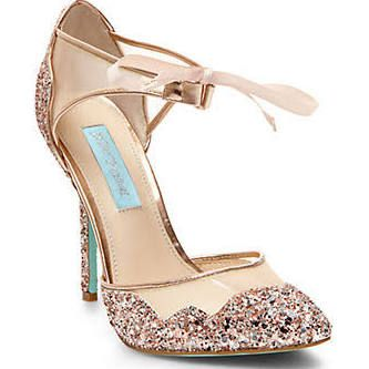 closed toe gold heels - Google Search