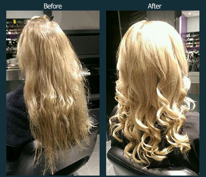 Olaplex avant après Cheveux beauté, Produits capillaires