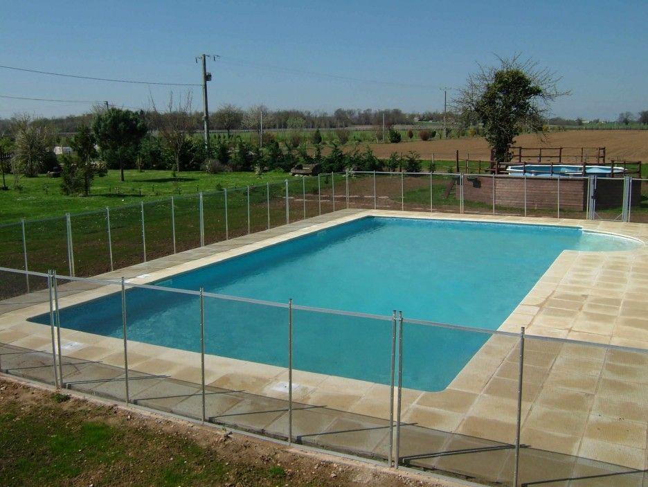 Striking Swimming Pool Design In Inground Pool Kits Plan Idea With Glass Fencing Unit Design Idea An Swimming Pool Designs Pool Designs Swimming Pools Backyard