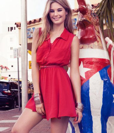 I have this dress in three colors and I LOVE IT <3