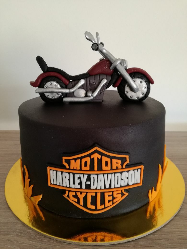 Torta Harley Davidson Motorcycle Cakes In 2019 Harley