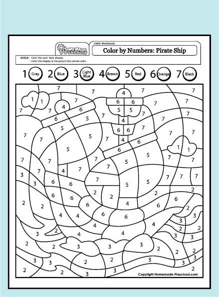 Creative, hands-on preschool worksheets, are just what a ...