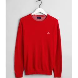 Photo of Gant Piqué Crew Sweater (rot) Gant