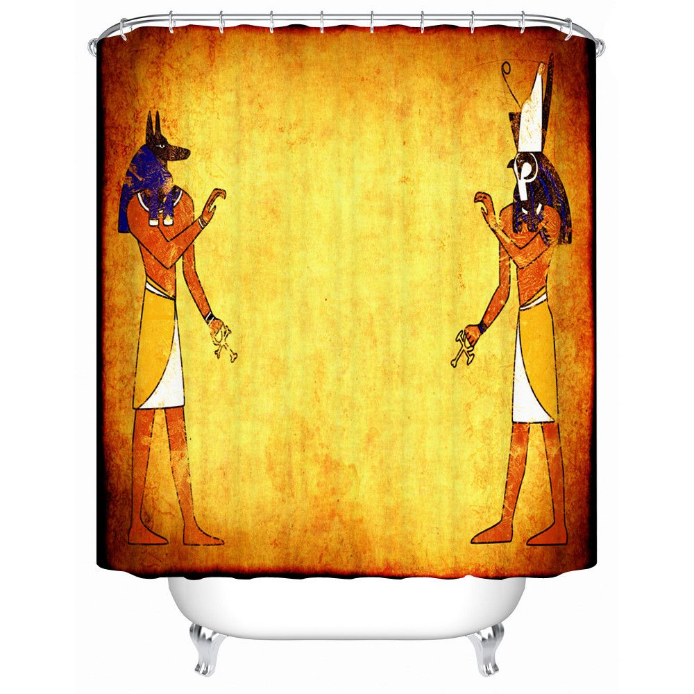 High Quality Shower Curtain Ancient Egyptian Style Picture