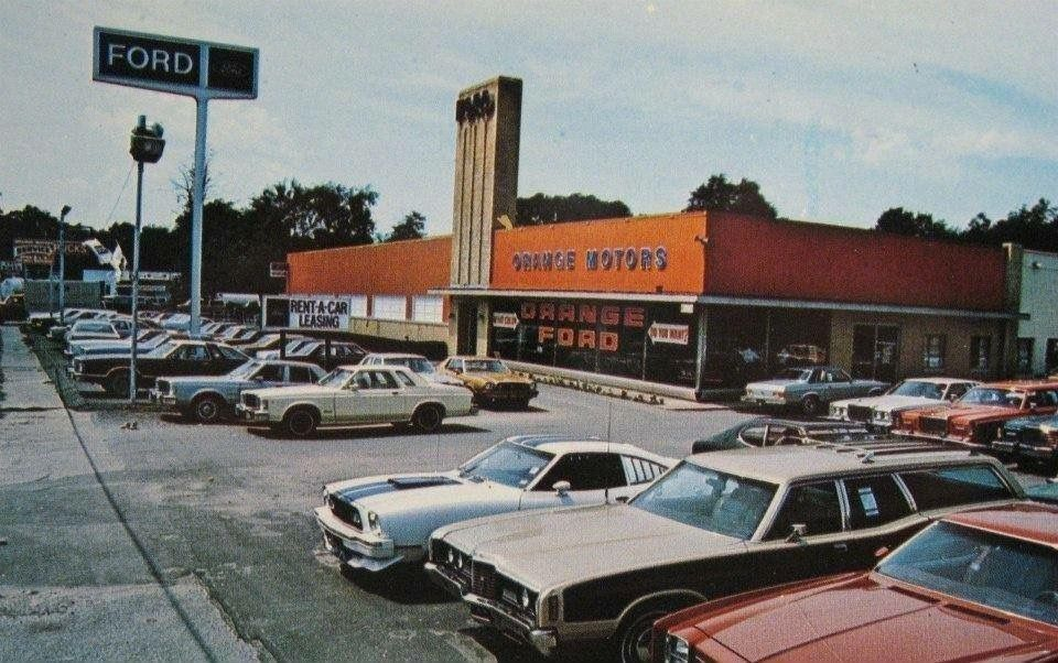 Ford Dealership 1978 Car Dealership Car Advertising Auto Repair Shop