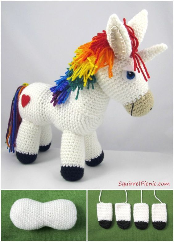 I have rounded up 30 creative and amazing crochet rainbow patterns ...