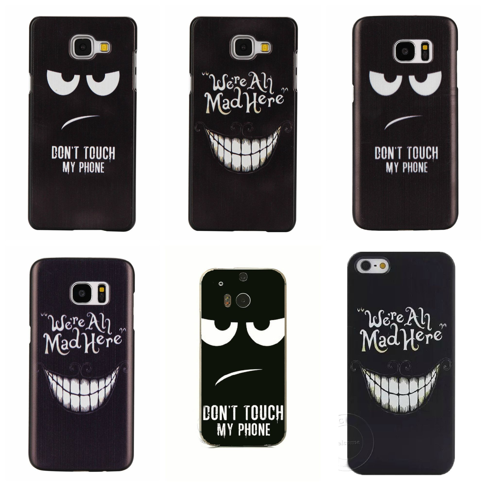 S5 A5 A3 2016 We Are All Mad Here Don Harga Samsung