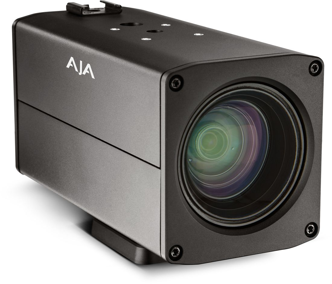 AJA Badge Sony UHD Camera Tech For Remote Market Camera