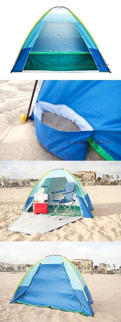Play Shades and Tents 117033 Family Portable Beach Tent Outdoor Uv Protection Canopy Cabana Sun & Play Shades and Tents 117033: Family Portable Beach Tent Outdoor ...