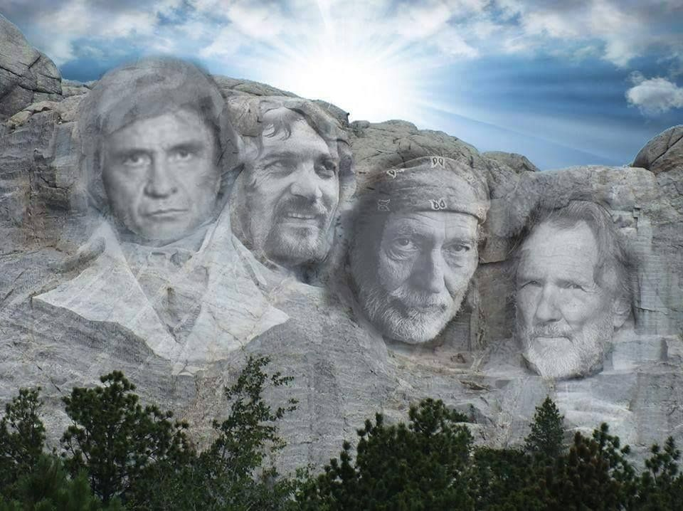 The Highwaymen on MT. Rushmore