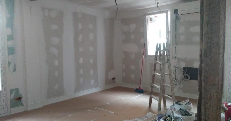 C mo preparar unas paredes de pladur antes de pintarlas - Pladur para paredes ...