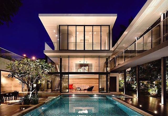 Pin By Gustavo Alves On Beach Houses Pinterest House - Beautiful interiors with asian influences tarrytown residence by webber studio architects