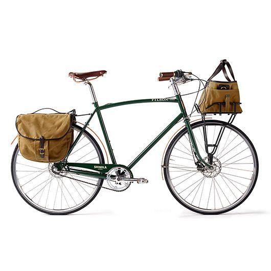 Filson Bixby Bicycle With Bags 55cm Filson And Shinola