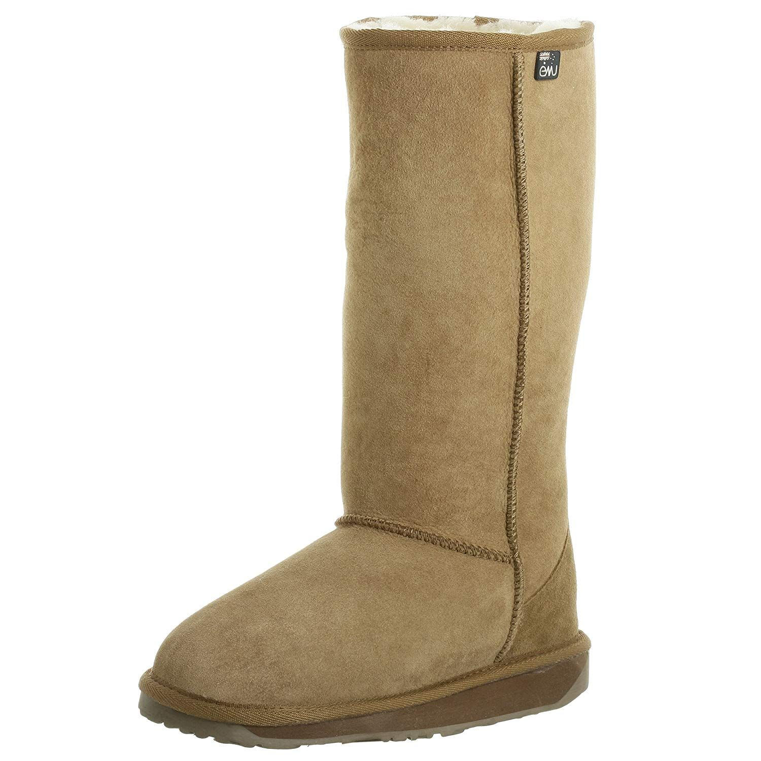 76f79e9409 EMU Australia Platinum Stinger Hi Womens Sheepskin Australian Made -  Chestnut Size 6 -- More info could be found at the image url.