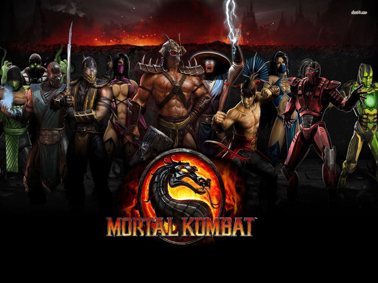 Обои Mortal kombat, персонажи, komplete edition. Игры foto 8
