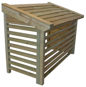 Heat Pump Box To Hide Your Heat Pump Tilbud Pa Varmepumpe Tilbud Pa Heat Pump Cover Pool Heat Pump Air Conditioner Cover Outdoor