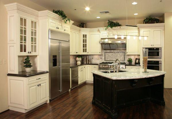 Kitchen With Black Glaze Phoenix Cabinets Kitchen Cabinet Doors