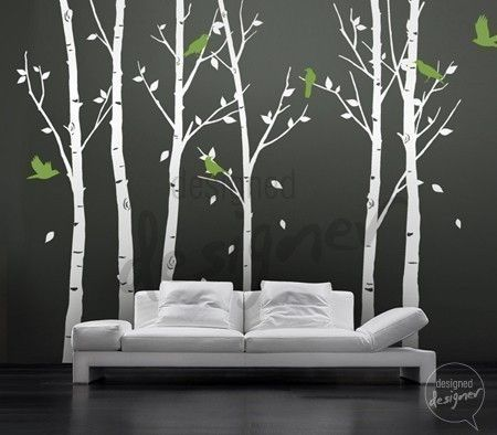 Vinyl wall stickers this would be cool to get away in your own home