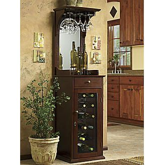 Locking Wine Cabinet From Seventh Avenue Wine Cabinets Small