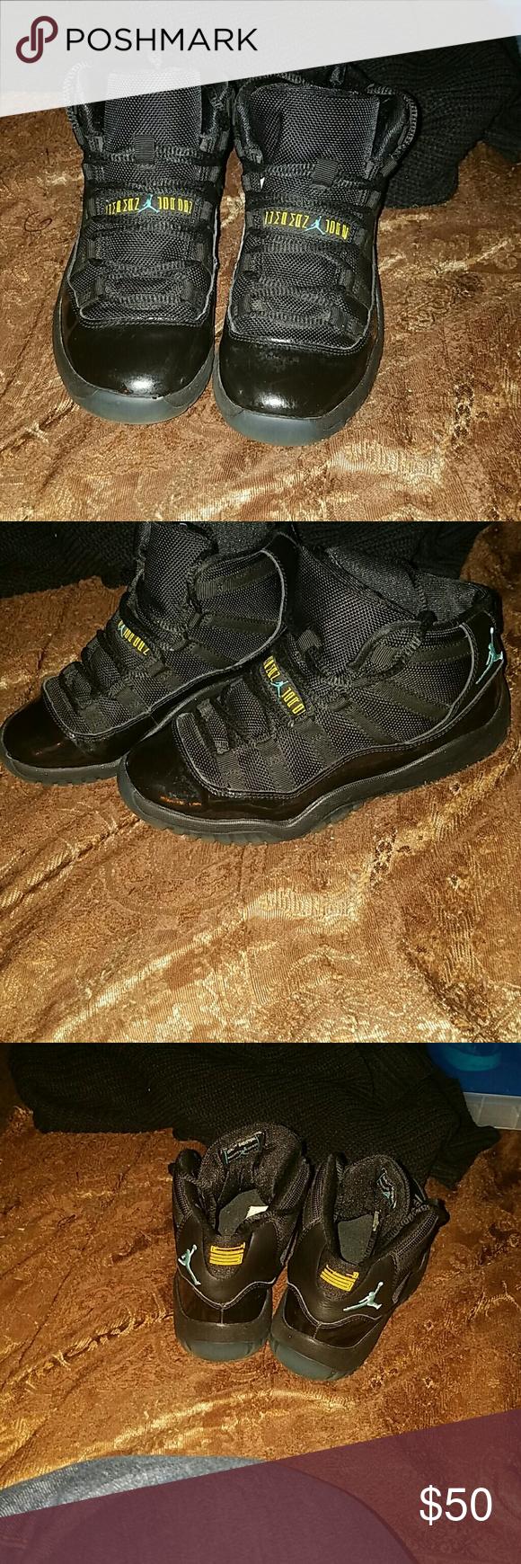 sports shoes d0c4d 96fec Jordan shoes Michael Jordan Kids Shoes Retro 11 Black Cyan 56986 My son  loved these great