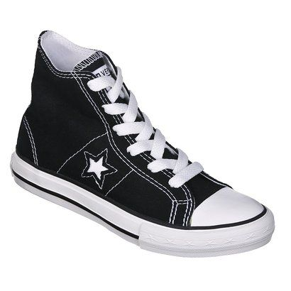 kid's converse® one star® hitop canvas lace up shoe