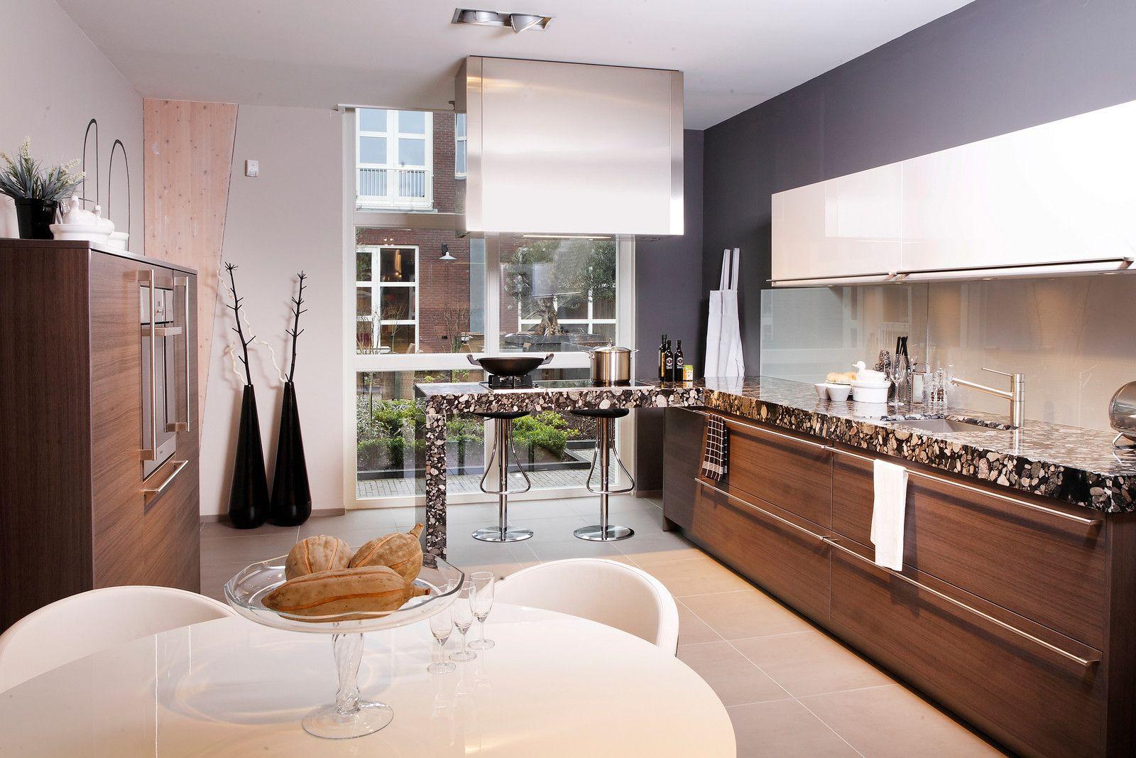 Eggersmann keuken by Tieleman Keukens - met bijzonder aanrechtblad ...