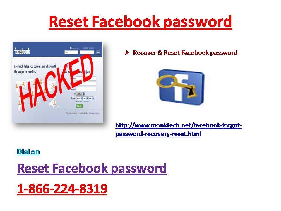 Call @ 1-866-224-8319 Forgot Facebook password Facebook