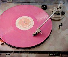 music, pink - inspiring picture on Favim.com