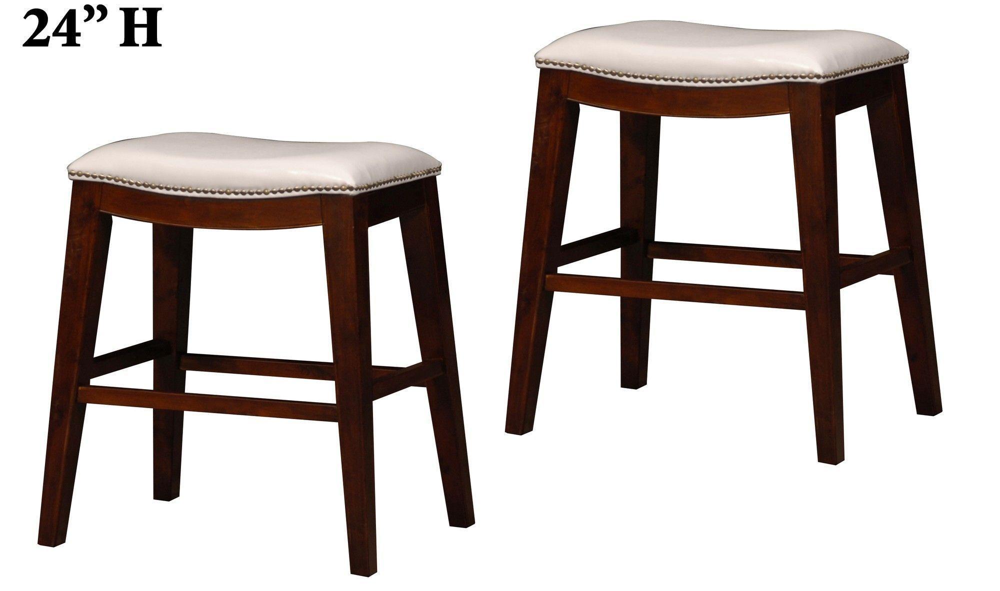 24 bar stool with cushion tabourets de bar avec selle 24 tabourets de bar