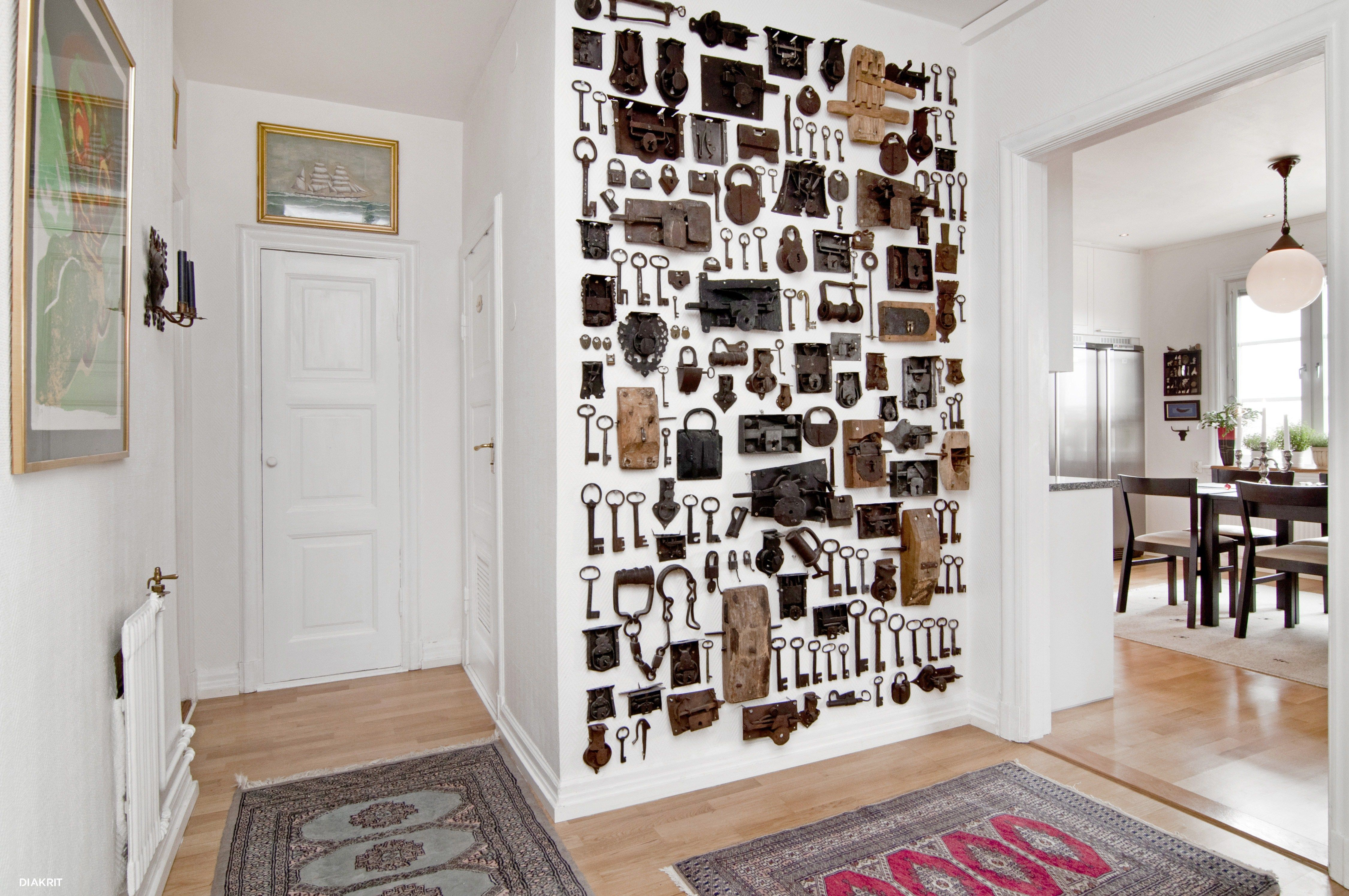 Apartment Foyer Key : Foyer wall lock key collection entries mudrooms