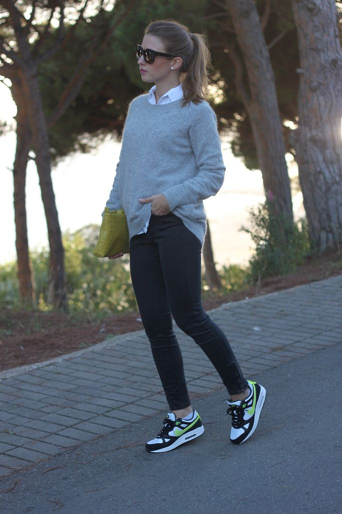 outfits to wear with nike air max femmes