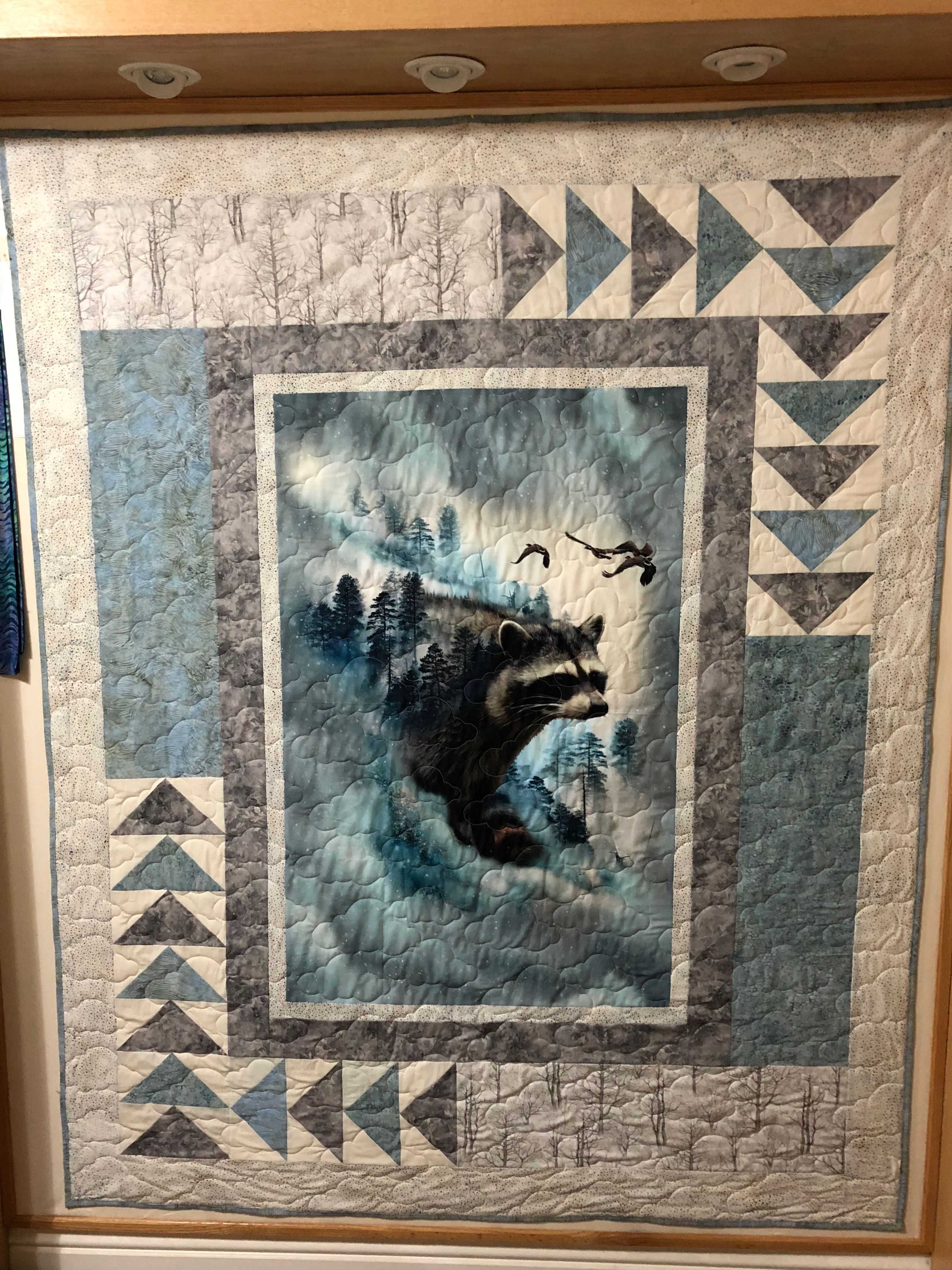 Call Of The Wild Made For A Friend Wildlife Quilts