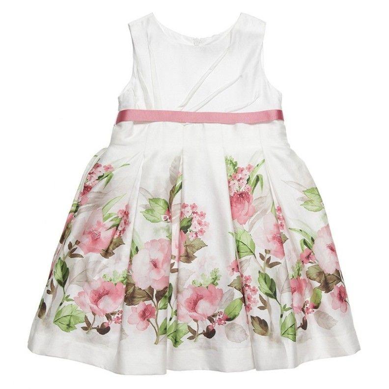 Mayoral dress / suknelė http://www.cheekymonkeyskids.co.uk/mayoral-girls-floral-dress-3930