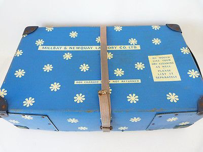 Vintage expandable laundry box #storage box #daisy #flower retro newquay 70s 60s ,  View more on the LINK: http://www.zeppy.io/product/gb/2/122037967358/
