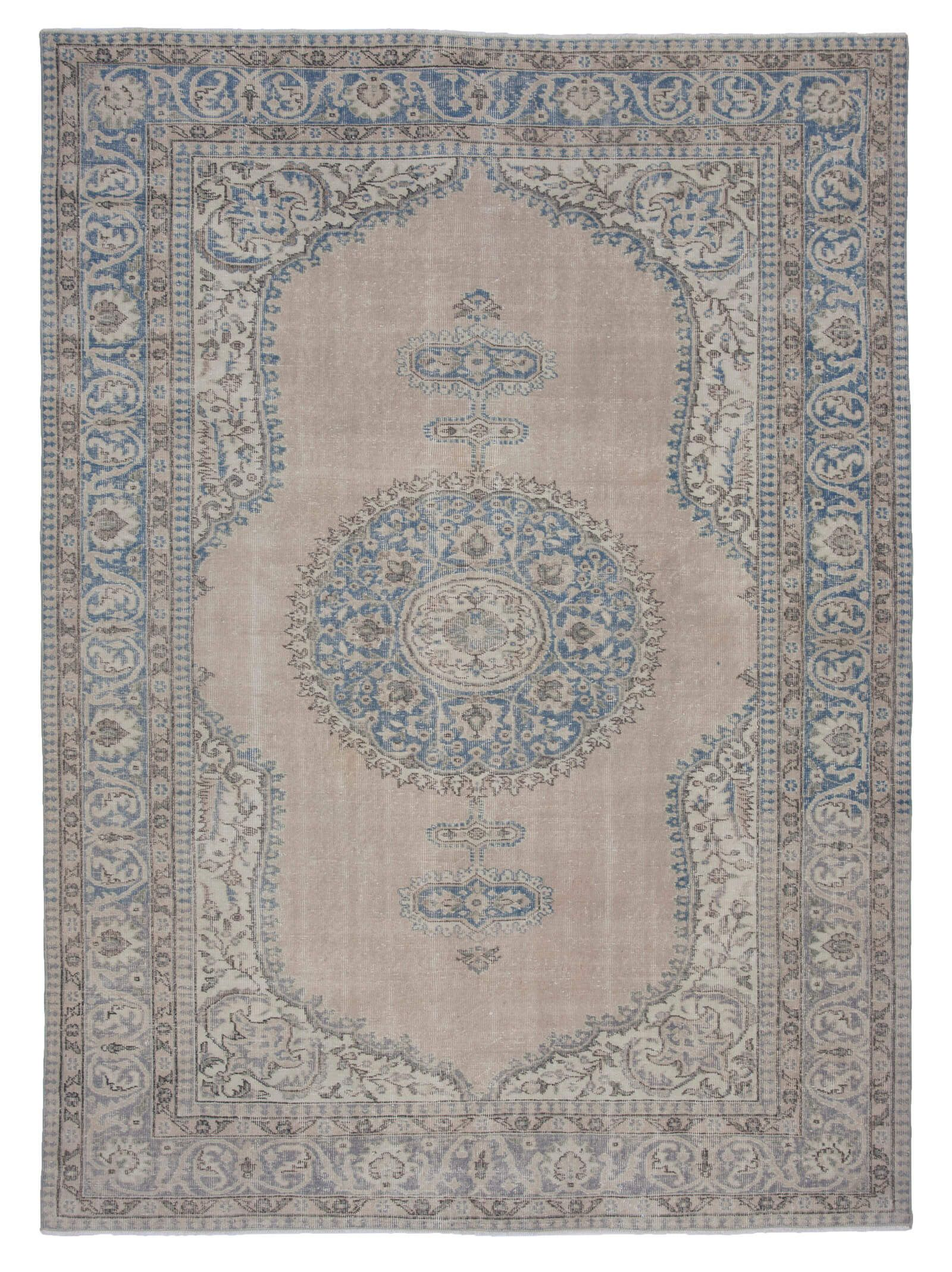 7x10 Beige Antique Anatolian Distressed Recycle Vintage Area Rug Rugs Carpet Vintagerug