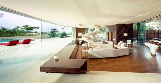 YTL Residence Kuala Lumpur Patrick Jouin Sanjit Manku Living Room