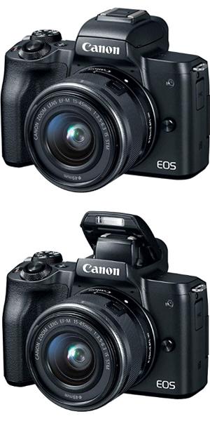 Best Price Canon Eos M50 Mirrorless Camera Kit W Ef M15 45mm And 4k Video Black Vlogging Camera Digital Camera Dslr Camera