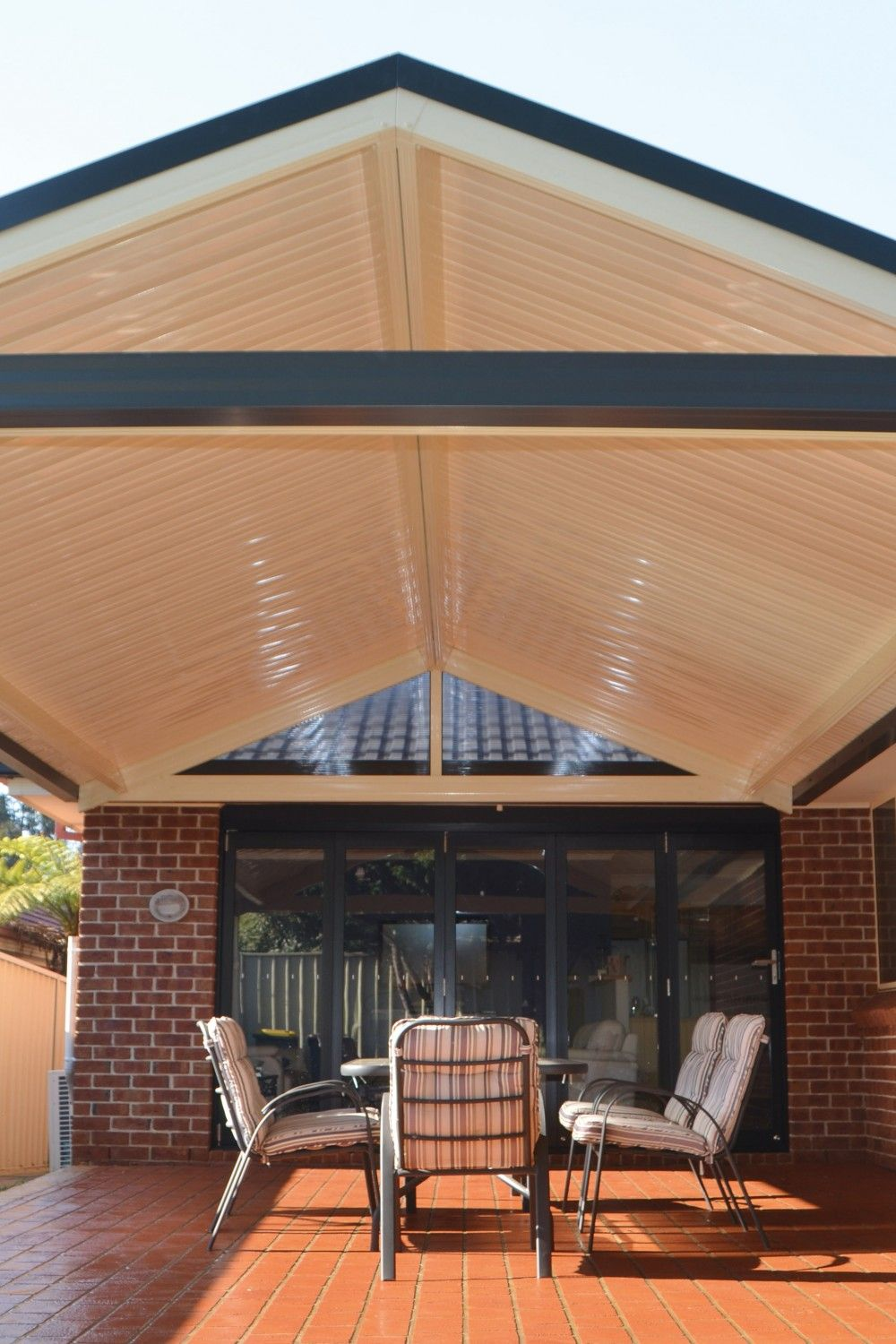 26 Beautiful Ideas for Patio Roof Designs Porch roof