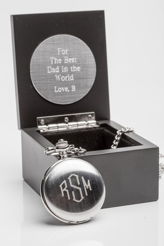 groom gift idea engraved pocket watch in personalized wooden box personalized mens watch groom gift from bride engraved pocket watch