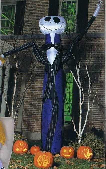 jack skellington 10ft inflatable nightmare before christmas decoration
