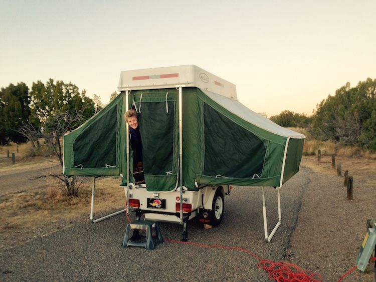 Tiny Camper Motorcycle Tent Trailer Pop Up Camper Pop Up